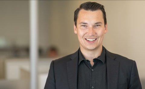 Daglig leder Per Erik Haugen i DNB Eiendom i Lillestrøm