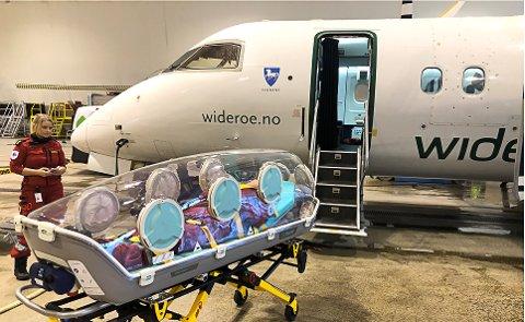 Widerøe skal nå fly koronapasienter, etter å ha signert en avtale med Luftambulansetjenesten.
