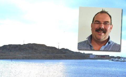 SELGER: Raymond Jonassen i Jonassen Maskin og Transport AS sier hans selskaper ikke vil drive reiselivsanlegg, og selger derfor tomta.