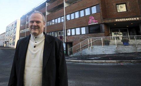«INGEN KOMMENTAR»: Administrerende direktør Per Olav Busch i Vansjø Boligbyggelag viser til at saken er under politietterforskning og vil derfor ikke kommentere den.
