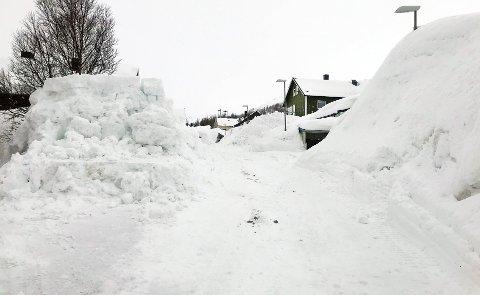 VANLIG: Snøen er kommet for å bli.