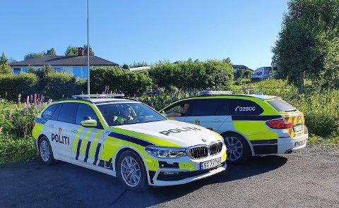 TRE KONTROLLER: I løpet av noen få timer onsdag ettermiddag ble 43 førere tatt for å kjøre for fort i Vestoppland.