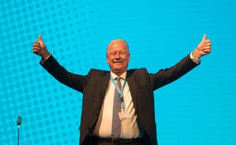 FRP-RINGREV: Carl I. Hagen var i mange år Frps leder. Foto: Vidar Ruud / NTB