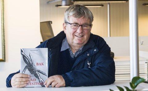 Krigsfanger: Wictor Lønnebergs siste bok handler om sovjetiske krigsfanger i Vestfold. I Larvik var det tre leire med Stavern som den største. Her var opp mot 2.000 fanger plassert under krigen.foto: roger w. sørdahl