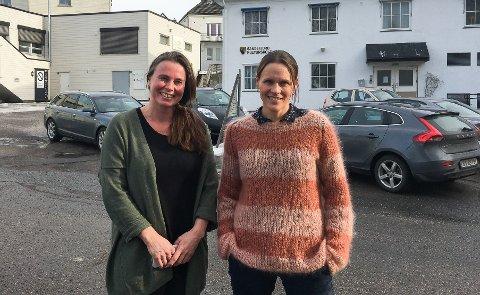 VAKSINERTE: Veronika Trøim (t.v) og Anne Møller-Hansen fikk begge koronavaksine i forrige uke.