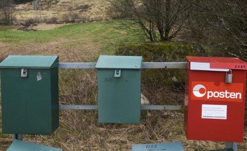 FÆRRE POSTDAGER: I framtiden kan det ende med at posten bringes ut ukentlig.