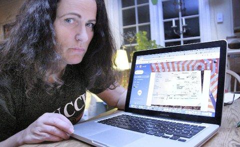SVAR: Eidsiva Nett undersøkte mandag fakturaen til Grete Solløst grundigere, og mener at det ikke er noen feil på den. Foto: Sigmund Fossen