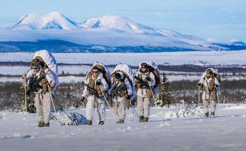 NATO-øvelsen Trident Juncture arrangeres i Norge i oktober og november. Over 40 000 deltakere fra mer enn 30 nasjoner deltar. Og nå har nederlandske soldater fått 9500 kroner hver til å kjøpe vinterklær. (Foto: Forsvaret)