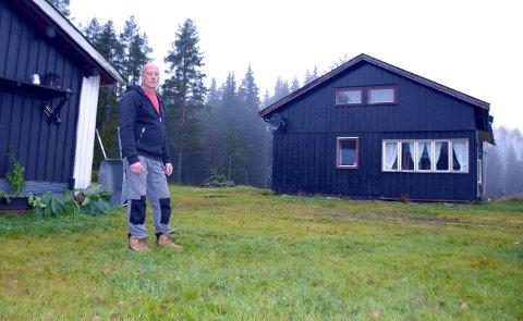 OPPGITT: Thomas Messel i Vestsivegen.