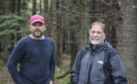 TILBAKE TIL LEK OG MORO: Inge Arno Panzer og Robert Bakken vil gi øyfolk og turister muligheten til både å oppleve at det går an å kose seg uten mobiltelefon og campe litt luksuriøst.