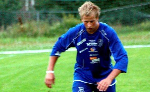 God: Jesper Braathen får skryt av Langesund-trener Knut Tellef Syvertsen.
