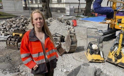Karina Kristina Moen Wallekjær legger fram saken til politisk behandling.