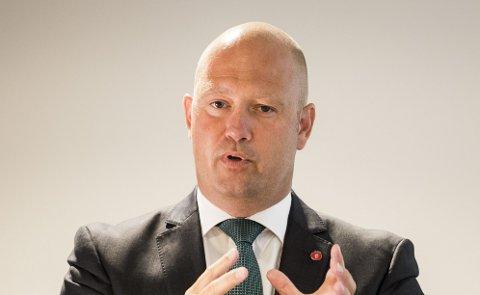 SANDØYA: Advokat Anders Anundsen klager til Fylkesmannen.