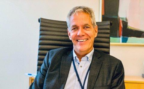 KLAR TALE: – Trenger mer billig grønn strøm, sier Sverre Gotaas.