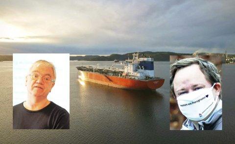 Kampen om smitten: Robinjo klarte på finurlig vis å sende 10 smitta filippinske sjøfolk til Bamble, der ordfører Kjeldis som vanlig tok imot med åpne armer.
