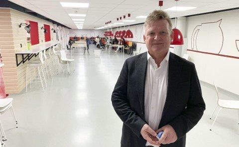 HARDE TAK: For rektor Kai Magne Bråthen og resten av de ansatte på PVS.