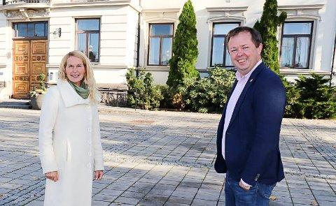– AVLYS RUSSEFEIRINGA: Hedda Foss Five og Robin Kåss er samstemte.