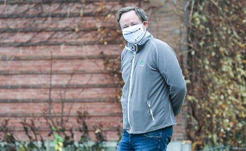 SEKS MÅNEDER: Mandag 14. juni er det nøyaktig seks måneder siden påbud om munnbind ble innført i Porsgrunn.