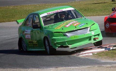 Stefan Åeng var sikker på finalen, men så smalt det i en sving.