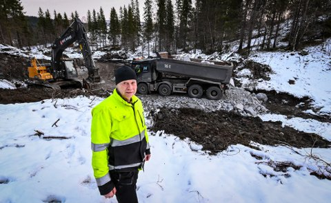 Vebjørn Opdahl, distriktsingeniør og byggeleder i NVE Midt-Norge, forteller at de har hatt god drift de siste månedene.
