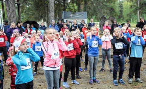 GRATIS BARNELØP: Barneløpene krever vanligvis at deltakerne betaler en startkontigent, men denne gangen er det gratis for alle.  Arkivfoto: Ingvild Drange Tronhus