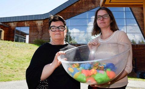KREVENDE TIDER: Det er krevende tider for styreleder Anita Haugland Gomnæs, daglig leder Cecilia Bjerke og alle som jobber for ringeriksregionens badetilbud. Nå trengs tilskudd.
