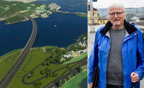 STORE FORVENTNINGER: – Vi i Banevokterne tror Fellesprosjektet trenger i overkant av 500 millioner kroner i statsbudsjettet for 2021, sier Lars Olsen.