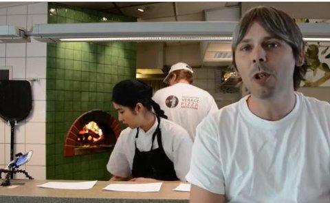 HEKTISK AKTIVITET I PIZZERIAEN: Endelig lages det pizza på Helgelandsmoen igjen!