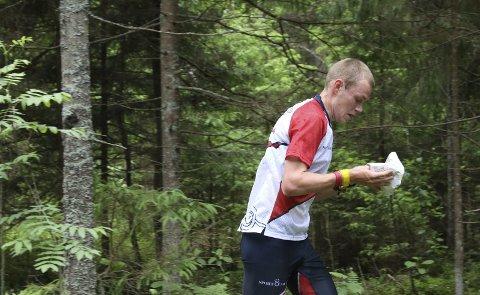 Sterkt: Eskil Kinneberg er verdens beste orienterer på langdistansen. Selv om gjerdrumsokningen var skadet igjennom vinteren, leverte han da det gjaldt. Foto: Erik Borg