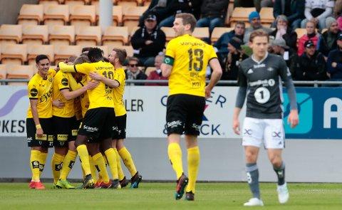 Lillestrøm  20190511. Eliteseriekamp i fotball mellom Lillestrøm og Rosenborg på Åråsen stadion. Foto: Håkon Mosvold Larsen / NTB scanpix