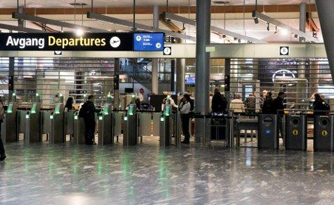 SNEK SEG INN: Mannen i 30-årene lurte seg forbi vekterne på Oslo lufthavn.