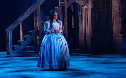 INGEN PLAN B: Amanda Louise Johansen K´Odingo ble sjeleglad da hun fikk jobb i «Les Misérables». Jeg hadde ingen plan B, sier hun.