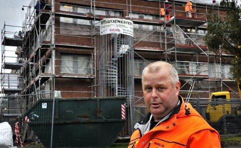 TYPISK: Til tross for at mann fra Ap på 44 er den mest typiske bystyrerepresentanten, er det ingen menn i Aps bystyregruppe som er 44 år. Nærmest er Stig Hansen. Parti: Ap. Alder: 49.