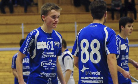 G19: Fredrik Gjødalstuen fra Sarpsborg Sharks er uttatt på G19-landslaget. Foto: Pål A. Karlsen