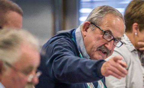 Høyres Harald Rønneberg er klokkeklar. - Gi treningssenteret brukstillatelse.