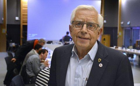 INN MED EINAR: Einar Antonsen (73) går på sitt 36. år med fast plass i kommunestyret.