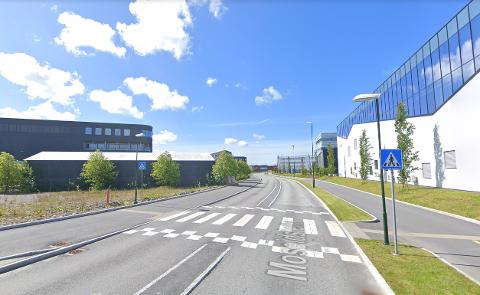 Moseidsletta og flere andre veier på Forus skal få nye gang- og sykkelveier.