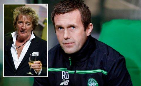 STOL PÅ MEG: Celtic-manager Ronny Deila fikk kjeft av Rod Stewart. Nå ber nordmannen om tillit. Foto: Graham Stuart (Reuters)
