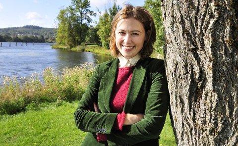 IBSEN HVER DAG: Ida Høy ønsker å gi turister og andre et Ibsen-tilbud året rundt. Arkivfoto:: Anne-Lise Surtevju