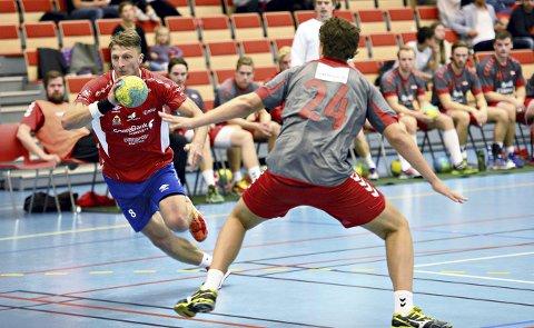 Dainius Matutis scoret ti mål mot Charlottenlund søndag.