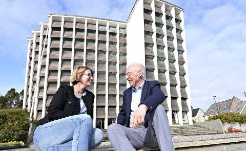Enige om veivalg: KKKKs styreleder Ragnhild Helseth og kunstnerisk leder Peder A. Rensvik er glad for omorganiseringen fra kommunalt prosjekt til aksjeselskap.