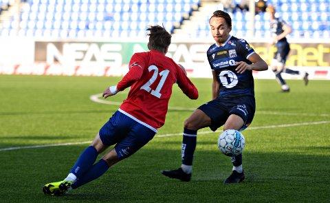 Kevin Brusethaug og KBK 2 vant klart mot Midsund.