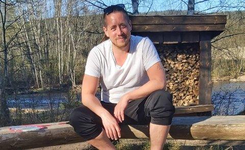GANGSTRIPELEDER: Leder Amandus Amadeus Syed-Bøe i Nittedal SV tar kritikken fra Statens vegvesen med ro.