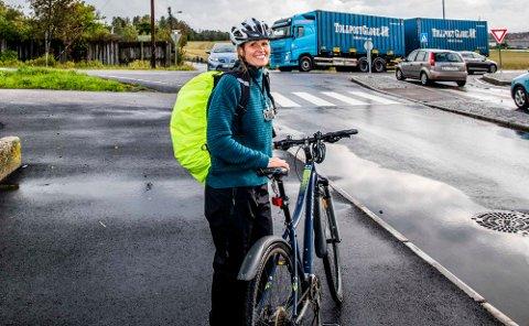 Motivasjonsfaktor: – La det gå sport i det, oppfordrer kommunens miljørådgiver Siri Gilbert.