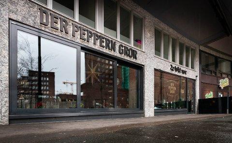 UTVIDER: Eierne av restauranten Der Peppern Gror på Fridtjof Nansens plass i Oslo skal åpne ny restaurant i Bogstadveien 1.