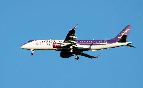 Den gang da: Tilbake i 2013 ble det jubel da selskapet Fly Nonstop satte opp direkterute mellom Bodø og London. Selskapet solgte billetter for 600 000,- på ruta, men kort tid før oppstart gikk selskapet konkurs.