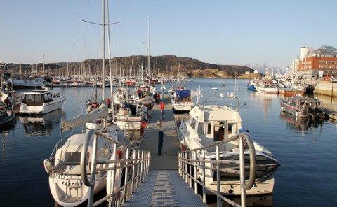 Småbåthavna i Bodø.