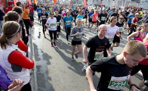 Om en drøy uke går startskuddet for Bergen City Marathon.