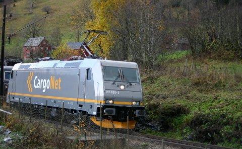CargoNet sliter med å drive lønnsom og effektiv godstrafikk på jernbane, og varsler kutt. Illustrasjonsfoto: Krister Sørbø / NTB scanpix.
