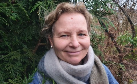 Skolesjef: Unni Tingvik er rektor ved Kvitsøy skole. Snart begynner hun i ny jobb i Sandnes.